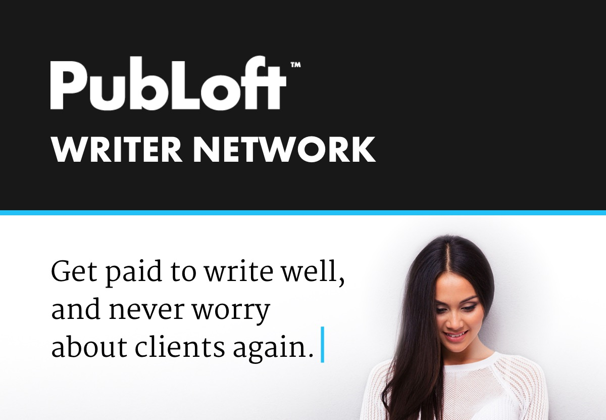 PubLoft Writer Network: Consistent, well-paying work for freelancers